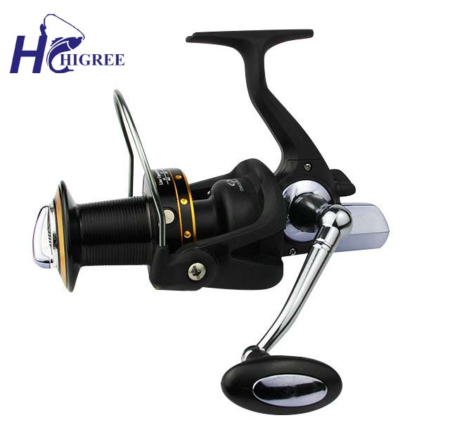 ФОТО HIGREE Exquisite Large Size Sulf Casting Fishing Reel GH8000 Spinning Reel 12+1BB