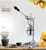 Stainless Steel manual hand press juicer squeezer citrus lemon orange pomegranate fruit juice extractor commercial or household
