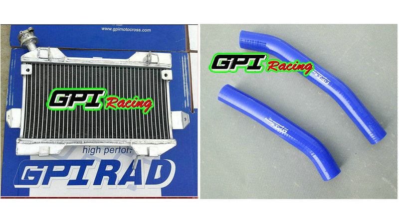 blue Silicone radiator hose for Suzuki LTR450 LT450R LTR 450 06 07 08 09