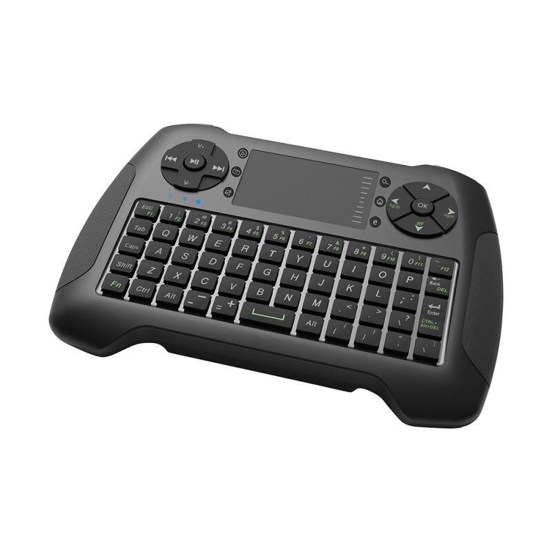 Nouvelle souris à Air sans fil avec clavier tactile souris à main Combo télécommande pour bureau/ordinateur portable/Smart TV