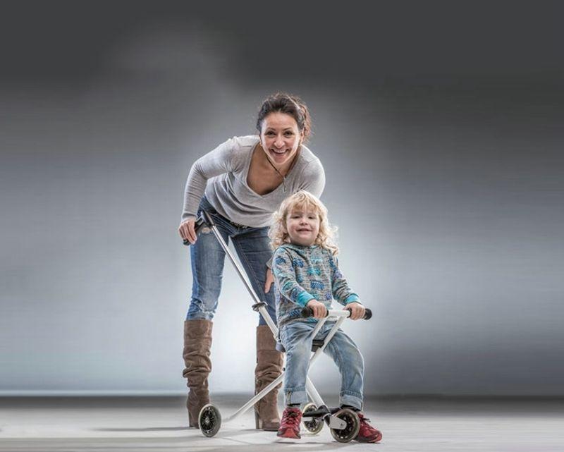 NEW design baby wagon / portable stroller / folding / Easy Car-in Three Wheels Stroller from