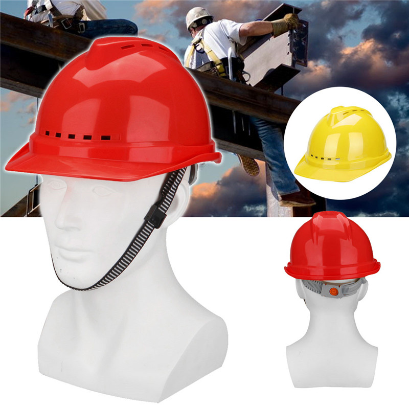Full Brim Hard Hat Construction Safety Work Helmet Ratchet Suspension ABS Hat Workplace Safety Supplies Safety Helmet building safety helmet abs protective glasses capacete hard hat construction working building safety helmet ntc 3