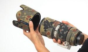 Image 4 - ROLANPRO เลนส์ Camouflage Coat Rain Cover สำหรับ Canon EF 70 200mm F2.8 L III USM ปืนป้องกันกรณี DSLR ป้องกัน