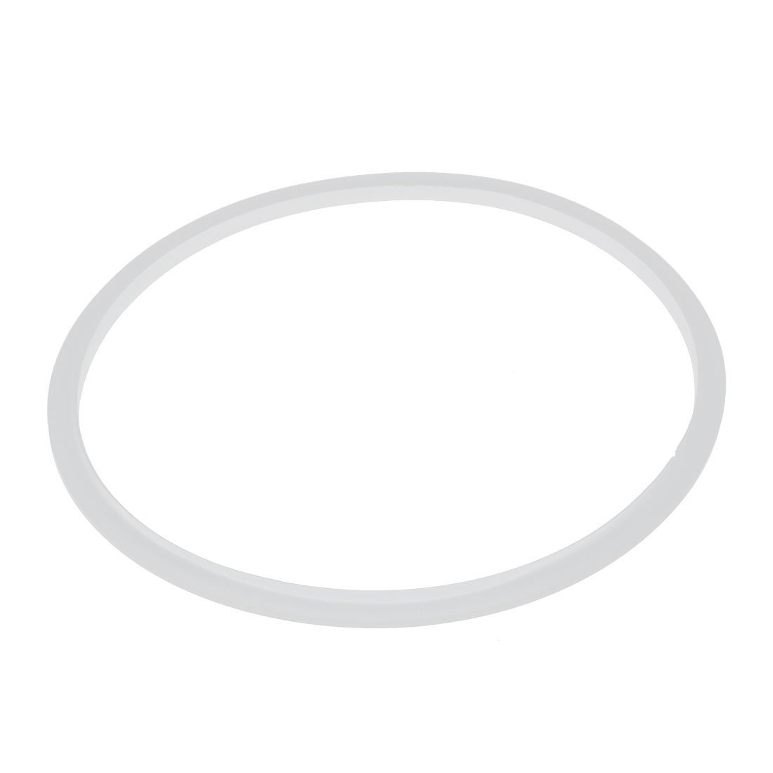 24cm Inner Dia Clear Silicone Pressure Cooker Sealing Ring White Electric Pressure Cooker Replacements Parts