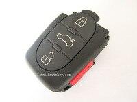 10 шт./лот Замена удаленный ключевой стартер замками брелок 3 + 1 Кнопка 315 мГц 4D0 837 231 P 4D0837231P для A4 A6 TT Quattro