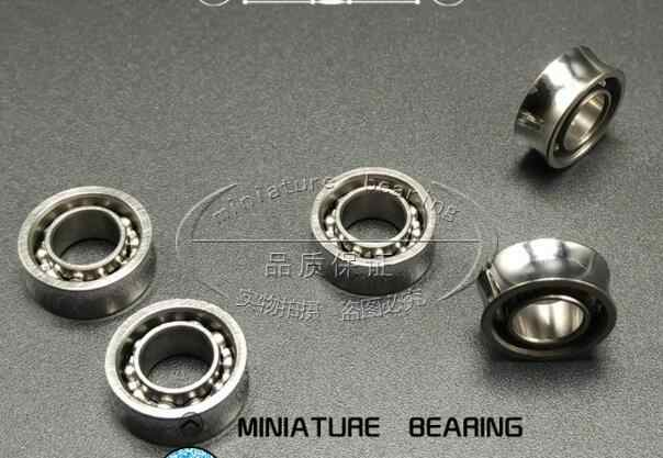 """10 Ball Bearing R188 RS 1//4/""""x 1//2/""""x 3//16/"""" Stainless"""