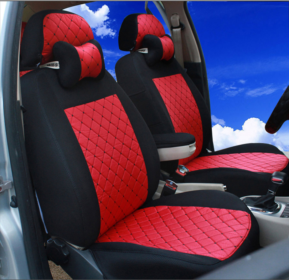 2 front seats universal car seat covers for toyota corolla camry rav4 auris prius yalis avensis. Black Bedroom Furniture Sets. Home Design Ideas