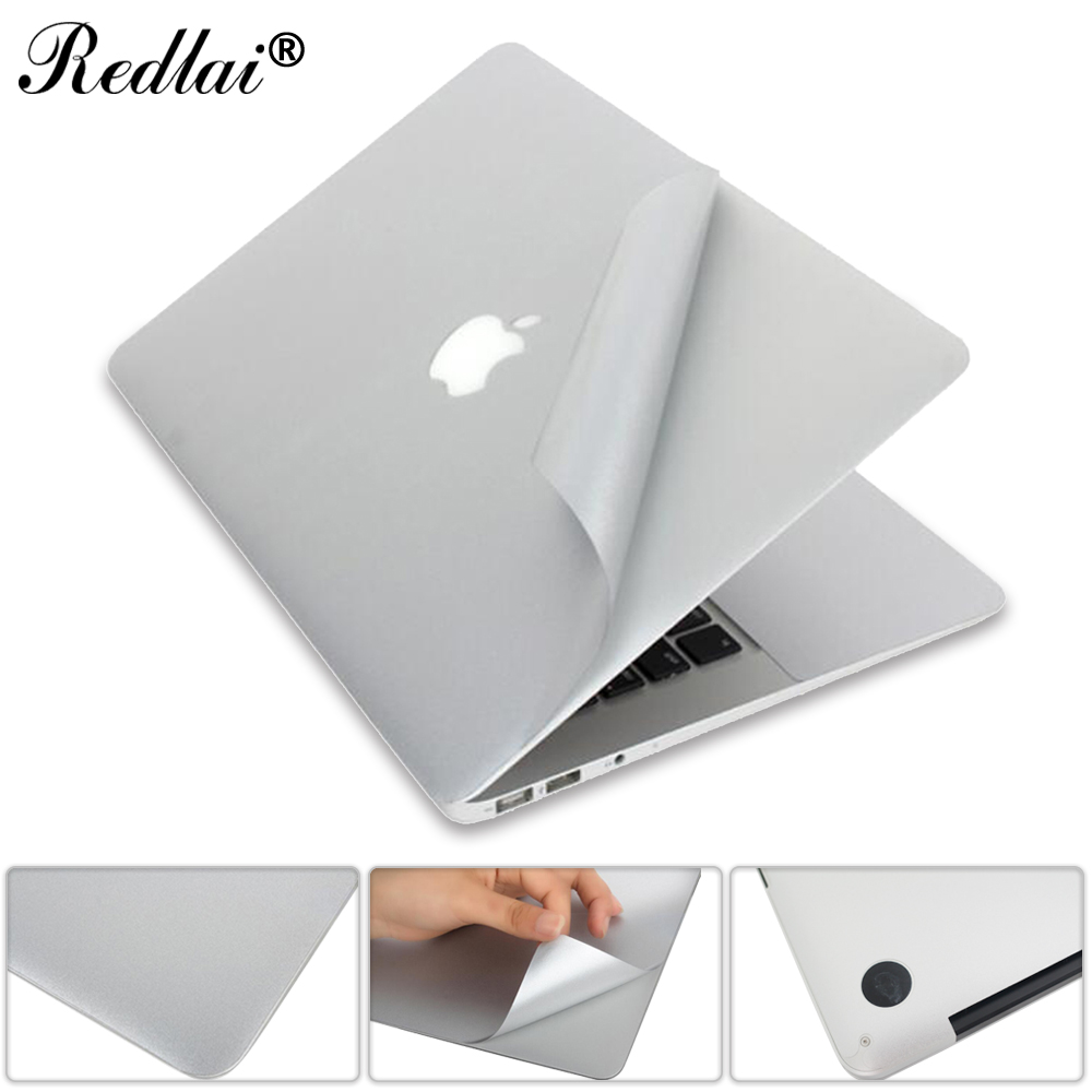 For Macbook Pro 13 15 Retina New 12 Full body Vinyl Skin Cover Protector Sticker For Mac book Guard Case Bottom Cover Air 11 13 цена и фото