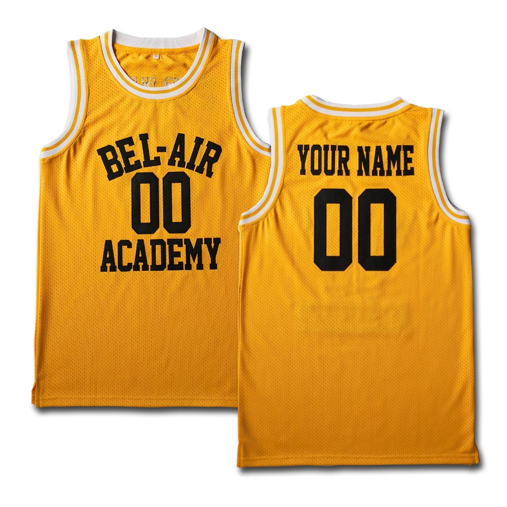 promo code a45bb 7859d US $25.0 |MM MASMIG Customized Bel Air Academy Basketball Jersey for Team  Custom and Personalized Basketball Jersey-in Basketball Jerseys from Sports  ...