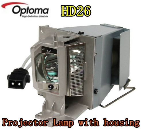 New Original Projector Lamp with housing SP.8VH01GC01 Lamp for OPTOMA HD26 HD141X GT1080 EH200ST Projectors new original remote control for optoma hd26 gt1080 gt1070x hd141x dh1008 hd37 hdf536 hdf537st hd200d projectors