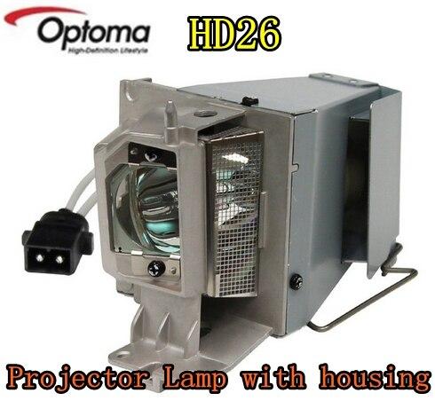 Nouvelle lampe de projecteur d'origine avec boîtier SP.8VH01GC01 lampe pour projecteurs OPTOMA HD26 HD141X GT1080 EH200ST