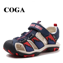 COGA  2017 New Arrival Boys Sandals Children Sandals Closed Toe Sandals for Little and Big Sport Kids Summe Shoes Eur Size 23-39