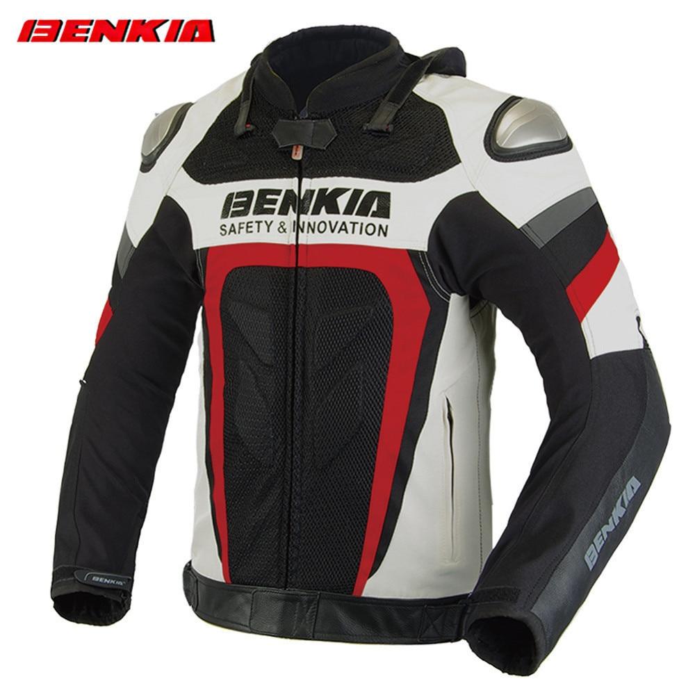 BENKIA GL70 Motocicleta Jaqueta de Equitação dos homens Blusão À Prova de Vento Respirável Jaqueta de Corrida De Moto Moto Moto Jaqueta Roupas
