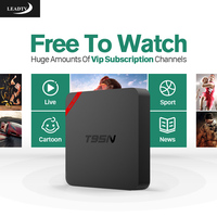 Android TV Box Strong CPU S905X With Hot Arabic French Spain Maroc IPTV Europe Channels Free
