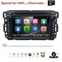 Автомобильный DVD GPS стерео радио Nav для GMC Yukon Sierra Chevrolet Chevy Tahoe Suburban CANBUS SD, USB, RDS, BLUETOOTH, DAB + TPMSSWC карта + Cam