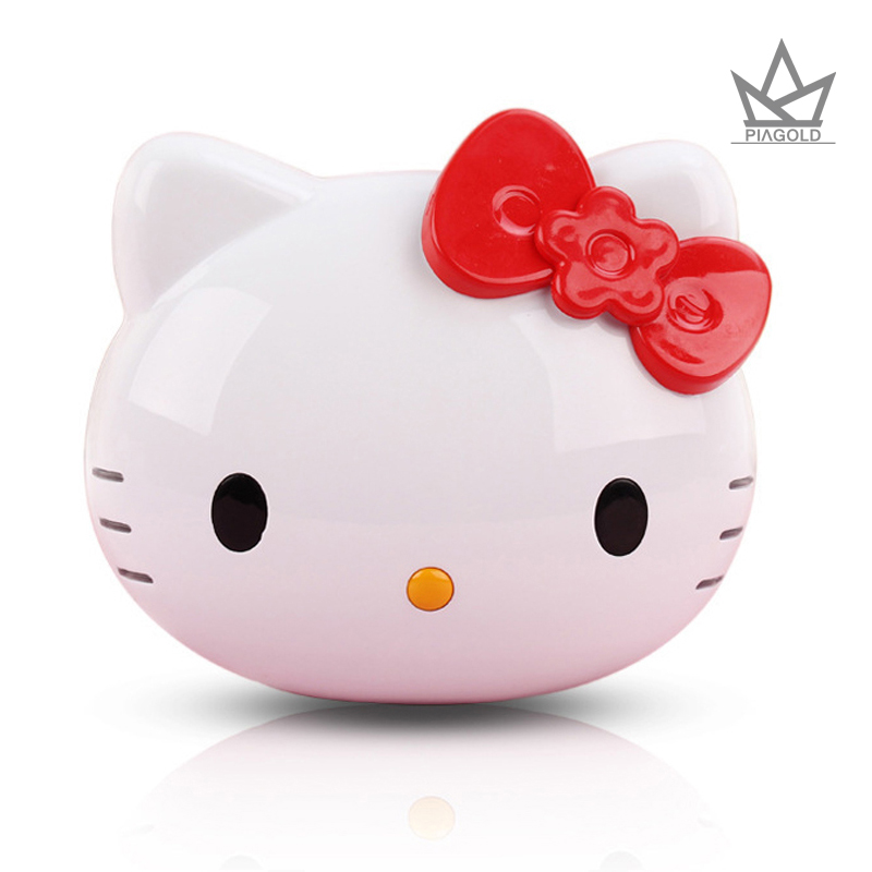 Cute hello kitty Portable Power Bank 8000mAh Universal 18650 Battery Charger Birthday Gift For Mobile Phones