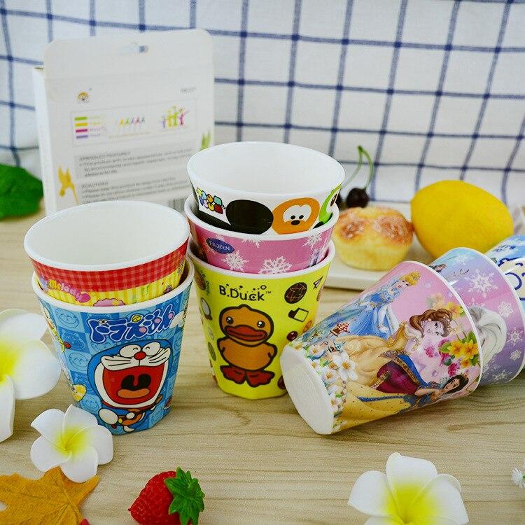 Cup Lovely Melamine cup KUMAMON HelloKitty Doraemon cup Creative cute children cup