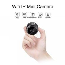 A9 Full HD 1080P Mini Wifi Camera With Infrared Night Vision Micro Camera Wireless IP P2P Motion Detection DV DVR Camera цена