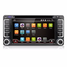 Android 6.0 Quad 4 Core CPU 2 DIN Universal Radio Car DVD GPS stereo For Toyota Corolla Camry Prado RAV4 Hilux VIOS