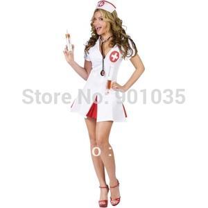 Le Donne Uomini Halloween Sanguinoso Dottori Infermiere Costume Orrore Party Costume
