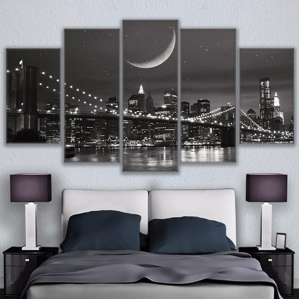 Canvas Paintings Modular Wall Art Frame Home Decor 5