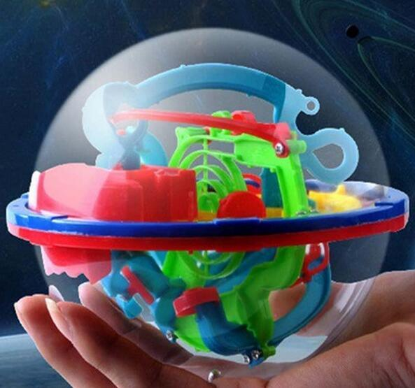 Early education 3D stereoscopic maze ball Magic intelligence Finders developmental Baby Infant Early childhood Toy