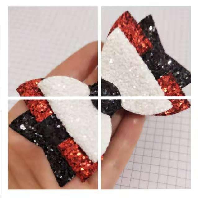 Glitter Synthetic Leather Headband