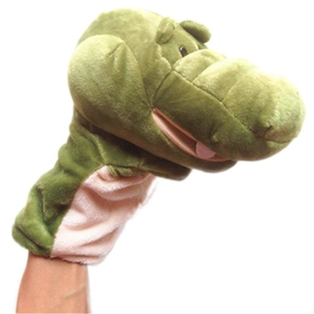 HIINST MallToy Drop SHIP Cute Hippo Style Hand Plush Full Body Hand ...