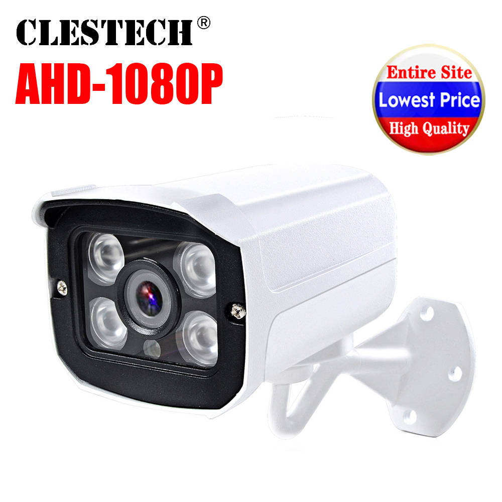 Metal mini matriz 720 P/960 P/1080 P AHD-N HD CCTV Camera SONY IMX323 2mp Digital Completo ao ar livre ip66 À Prova D' Água Infravermelho tem Bala
