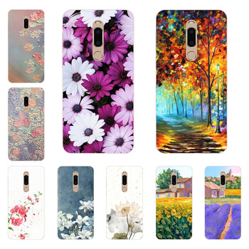 meizu m6t Case,Silicon Flower Plants Painting Soft TPU Back Cover for meizu m6t protect Phone shell