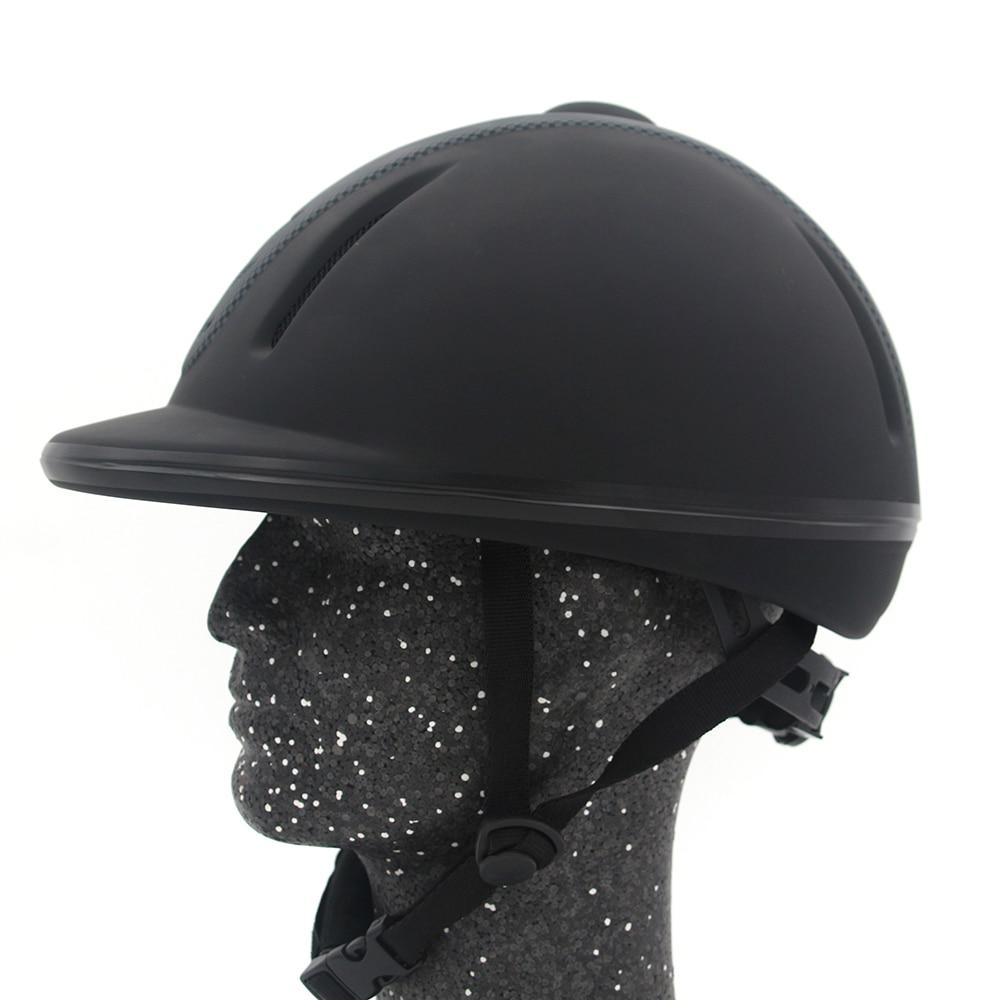 Casque d'équitation en plein air taille réglable demi-visage couvre-chef de protection équipement sécurisé pour les cavaliers de questrie