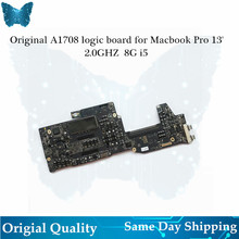 Wholesale Original A1708 logic board for Macbook Pro 13′ Motherboard 2.0ghz i5 8G 2016 820-00875-A