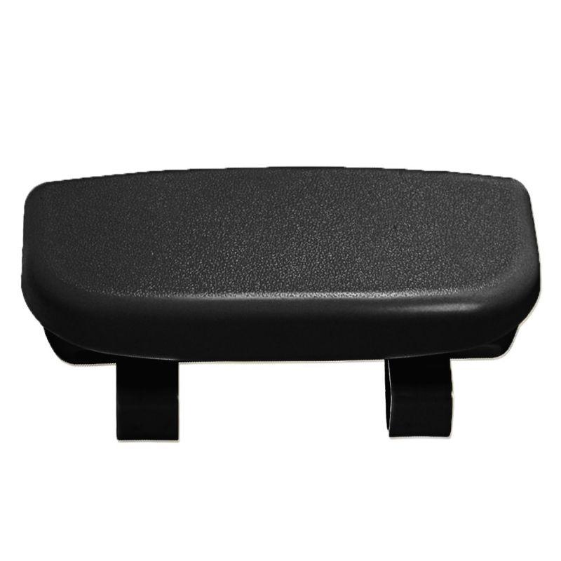 Креативные автомобильные принадлежности очки чехол кронштейн драйвер футляр для солнцезащитных очков солнцезащитный козырек многоцелевой автомобильный зажим для очков - Название цвета: Черный