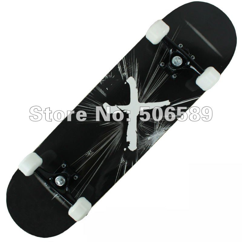 free shipping high quality skate board maple wood nice layers 306 professional elementary grade Silence
