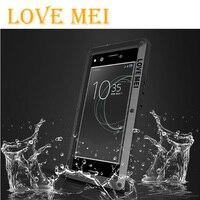Love Mei רב עצמה עבור Xiaomi Mi מקרה עמיד למים כיסוי היברידי שריון מקסימום Fundas דיור מים/לכלוך/הלם/הוכחת גשם