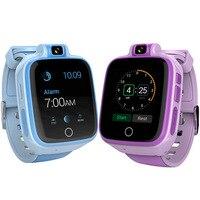 Смарт часы Детские безопасный монитор gps спортивные трекер часы наручные малыш Android Водонепроницаемый маленьких Q400 Камера Поддержка SIM 4 г с
