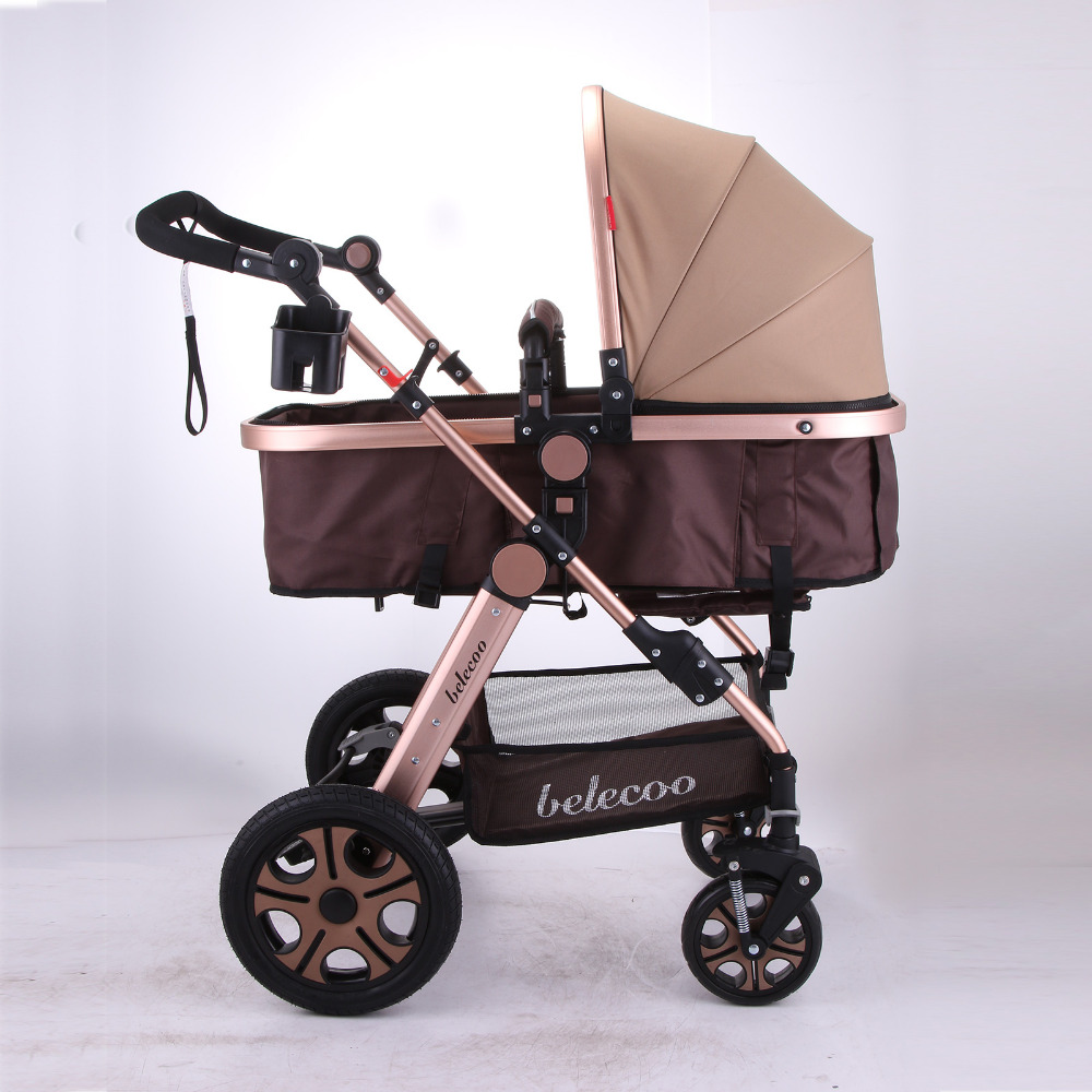 Luxus Neugeborenes Wagen Säuglings Reise Auto Faltbare Kinderwagen Kinderwagen Kinderwagen
