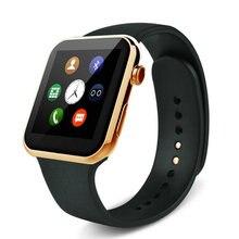 Тонкий смарт часы телефон светодиод музыка bluetooth спорт любители кольцо руки электронные часы