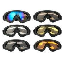 HOT Motorcycle Dustproof Ski Snowboard Sunglasses ATV Dirt Bike Off Road Adult Goggles Glasses Eyewear Clear Frame Eye Glasses
