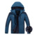 4XL 5XL Engrossar Parka Quente De Veludo/Velo Inverno Homens Jaqueta Com Capuz À Prova de Vento Impermeável Casacos de Marca Homens Blusão CF00302