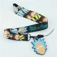 Rick and Morty Lanyard with ID Card Holder 3