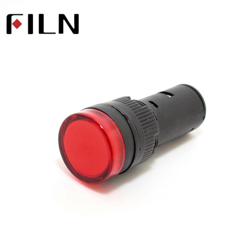 AD22-16DS 16mm 12v 24v 110v 220v Signal LED Power Indicator Light Plastic Signal Lamp Pilot Lamp