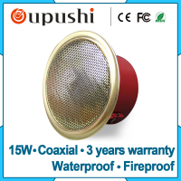 High Quality Coaxial Pa Sound System Ceiling Speaker Covers 4 Inch