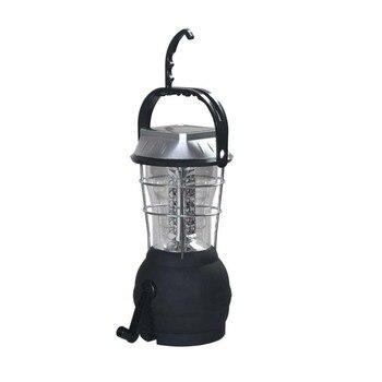 Tentes Solaires Pour Le Camping | LED Camping Nuit Lumières Manivelle énergie Solaire Usb Rechargeable Extérieur Portable Lanterne étanche Lampe De Tente Suspendue AA