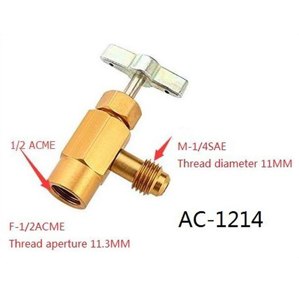 Auto Car R134A Recharge Hose A/C retrofits fitting connector with Can Tap Measuring Charging Pipe Gauge