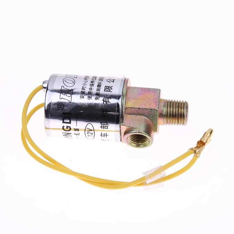New 1/4inch Train Truck Air Horn 12V/24V Heavy Duty Electric Solenoid Valve for Auto Car Air Ride System