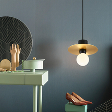 Modern Pendant Ceiling Lamps Metal Single Head Pendant Lights Pending Lighting Dining Living Room Bedroom Kitchen Hanging Light цена