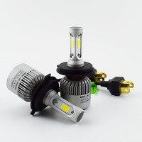 2 PCS LED Car Headlight Bulb Hi Lo Beam COB Headlights 72W 8000LM 6500K Auto Headlamp