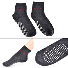 1Pair Anti Cold Tourmaline Socks Foot Care Automatic Heat Ankle Massage Sock Foot Massager Far infrared