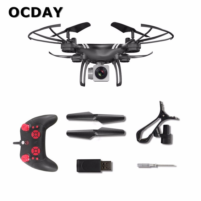 Camera Drones RC Drone Wide Angle Lens 0.3MP Camera Wifi FPV Live Quadcopter Altitude Hold Headless Helicopter 2.4GHz Drone